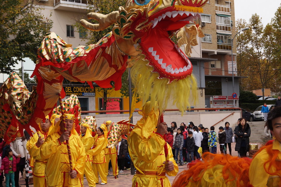 Chinese new year Madrid 2016