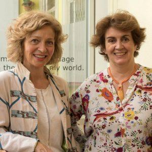 Begoña Llovet and Matilde Cerrolaza