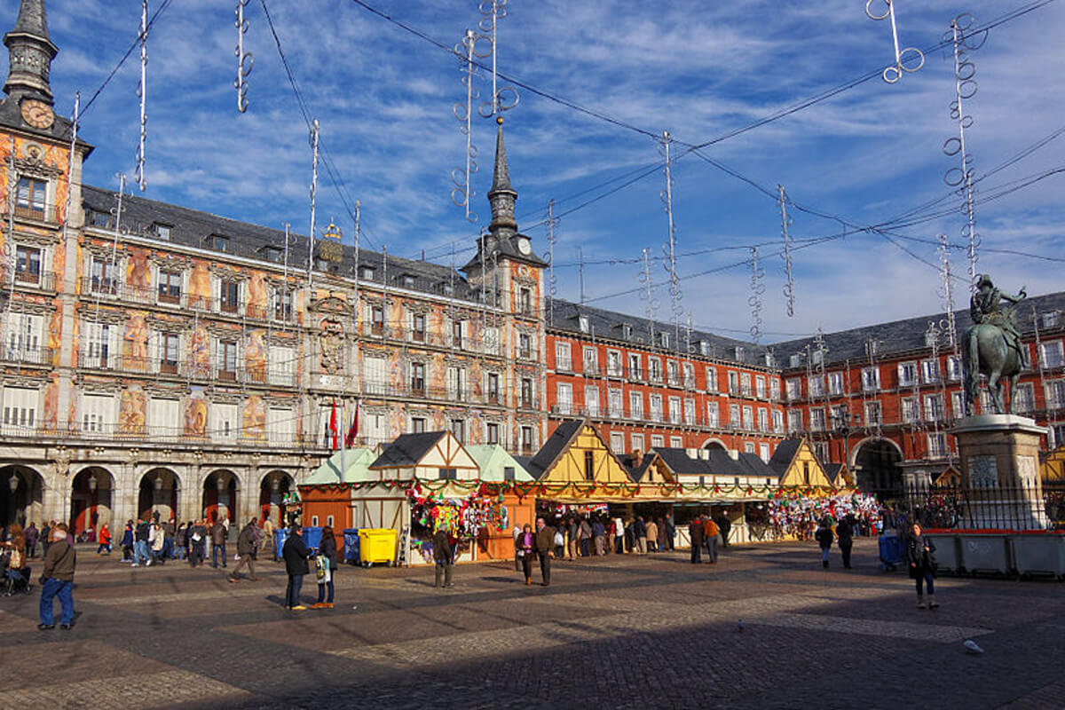 Christmas in Madrid - Plaza Mayor