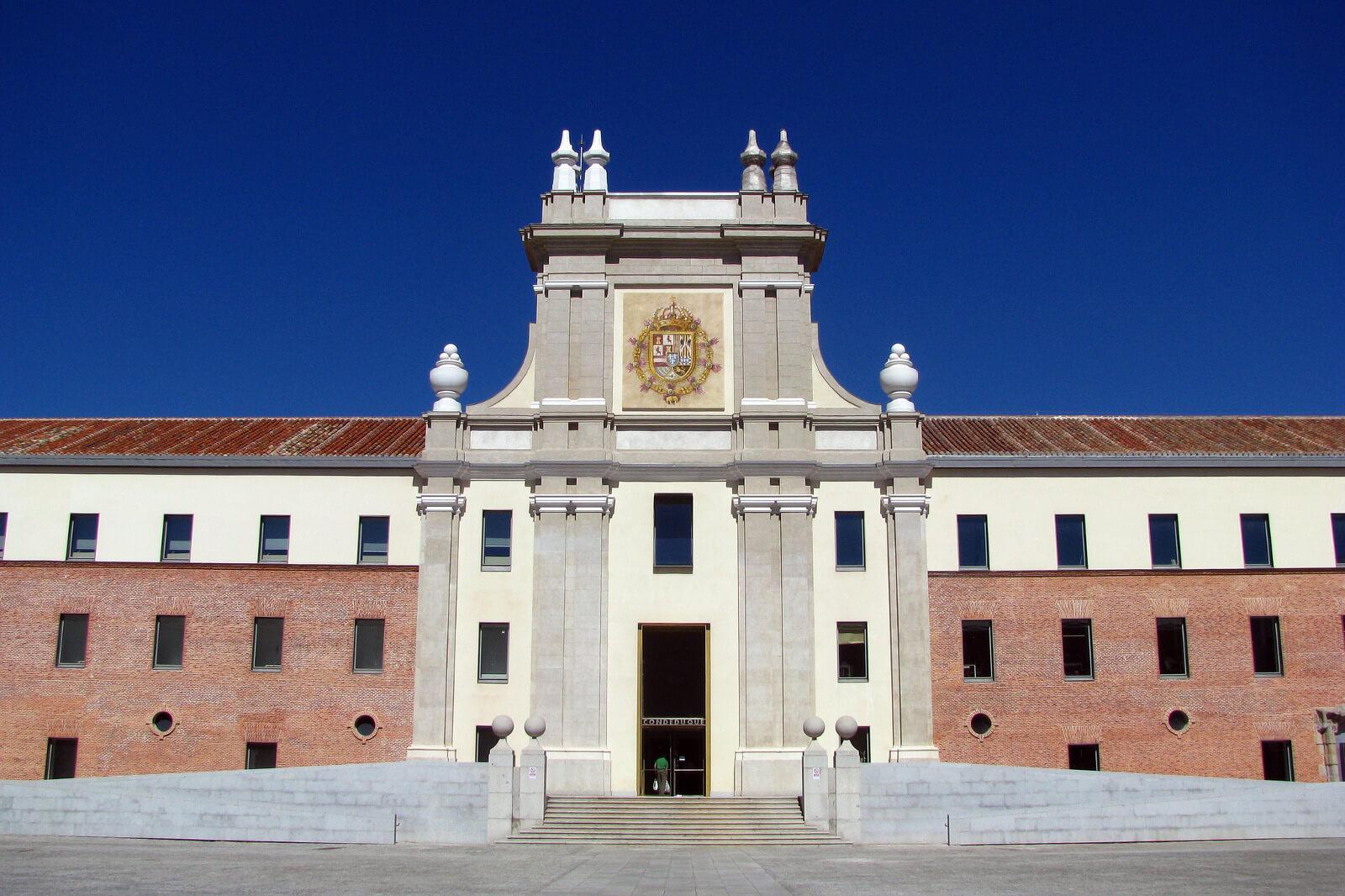 Visit at Cuartel Conde Duque
