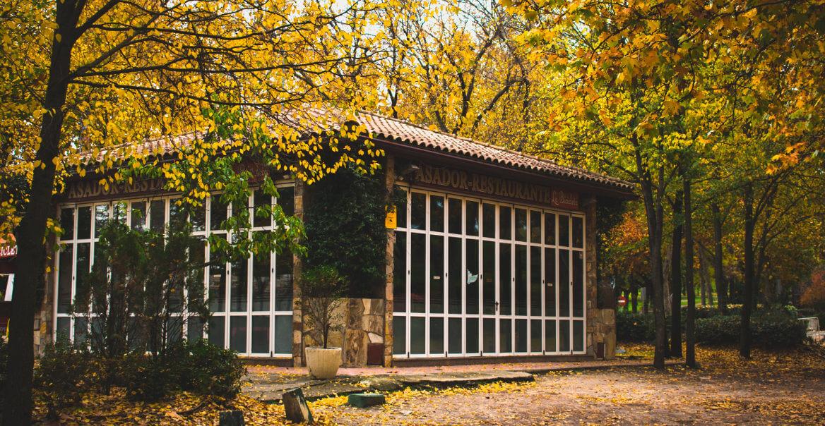 The Casa de Campo in Madrid, Spain