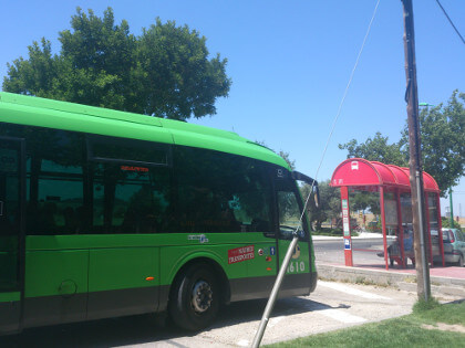 Bus interurbano madrid