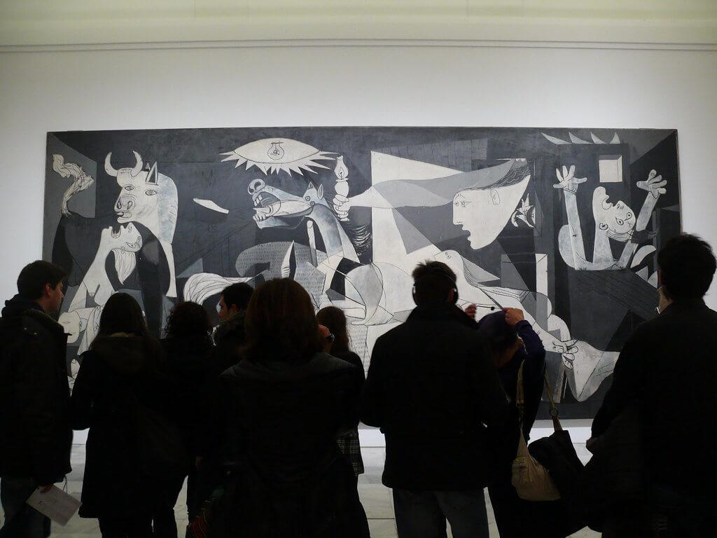 Museum Reina Sofia Guernica picasso