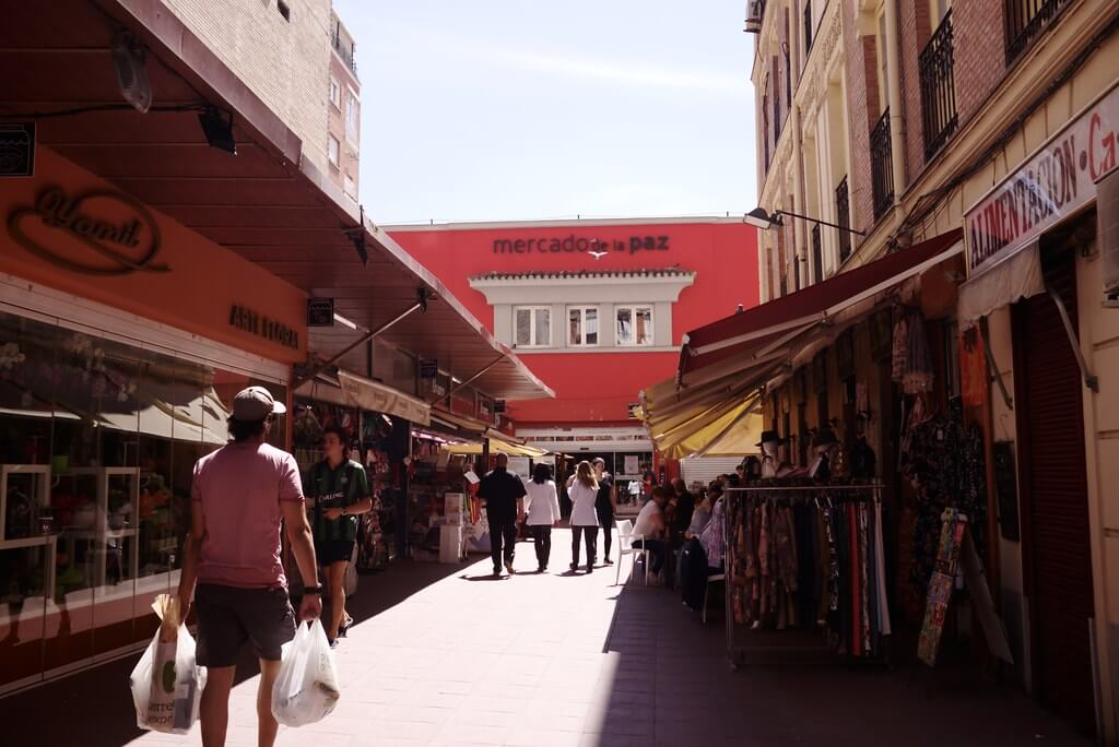 Traditional market la Paz