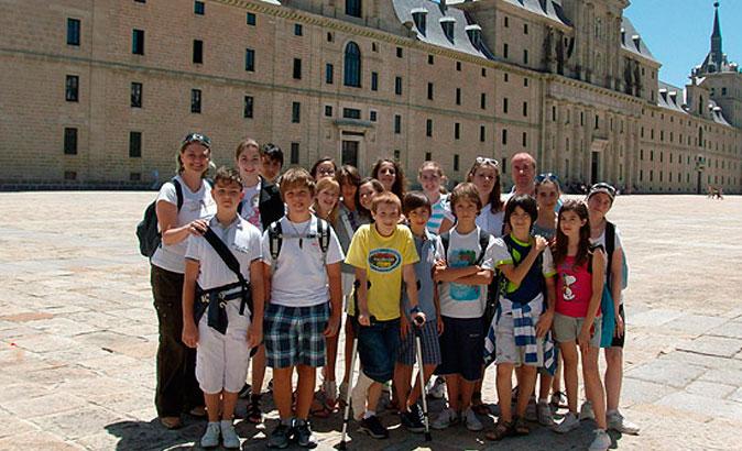 Corso di spagnolo per gruppi a El Escorial (12-15 anni)