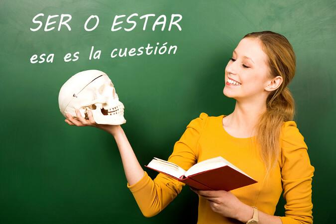 Material para clase de ELE: ¡Hablemos con ser y estar!
