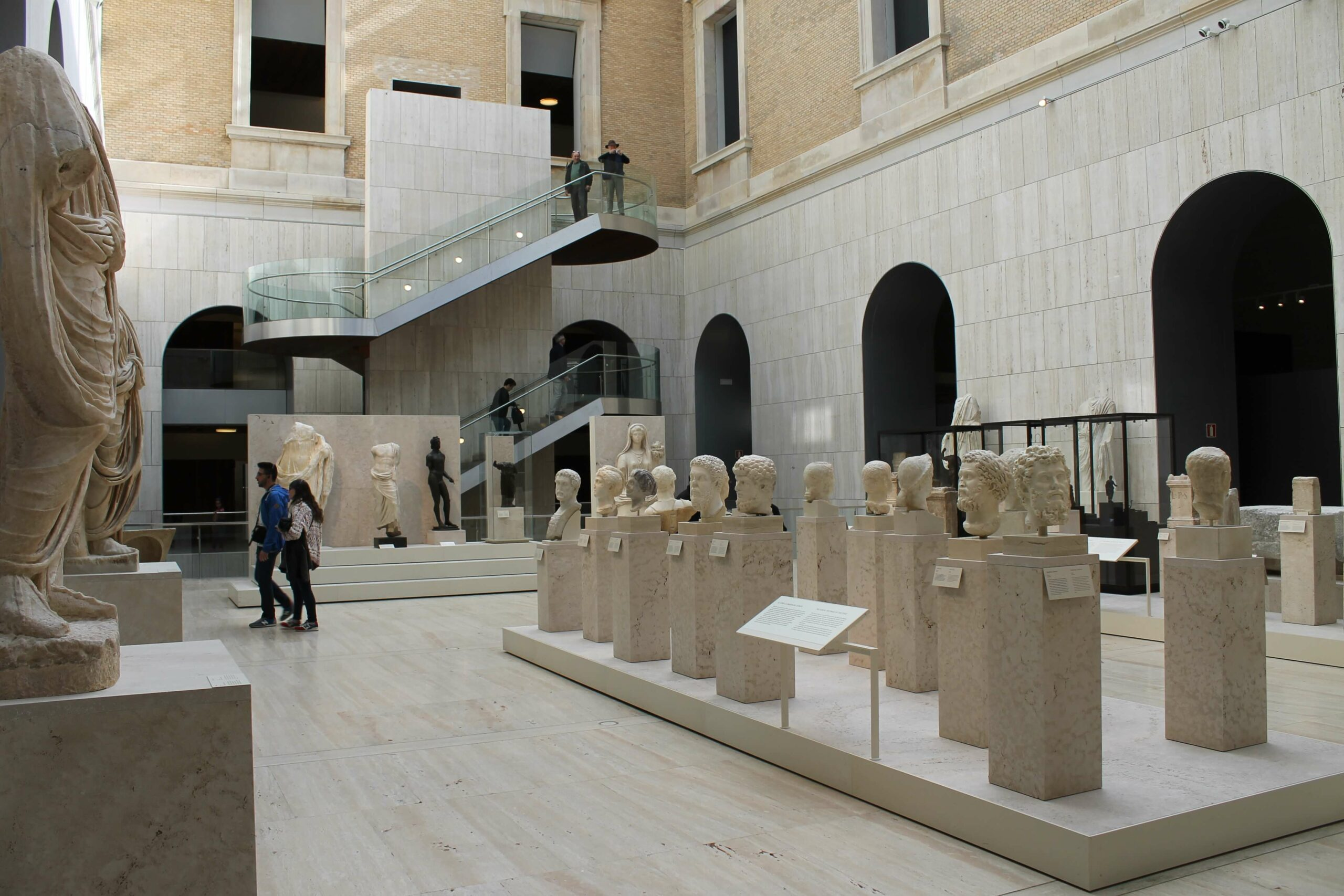 Gimkana museo Arqueologico Nacional Madrid