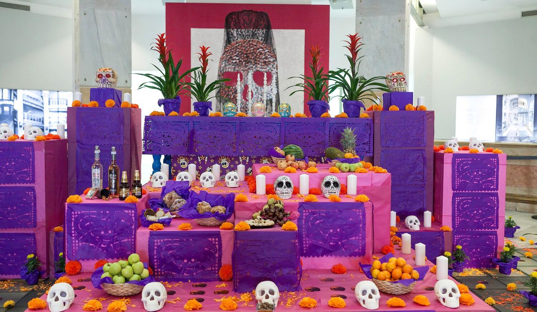 Ruta de Altares de Madrid, Día de Muertos