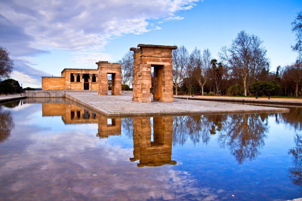Templo Debod Plaza España Madrid