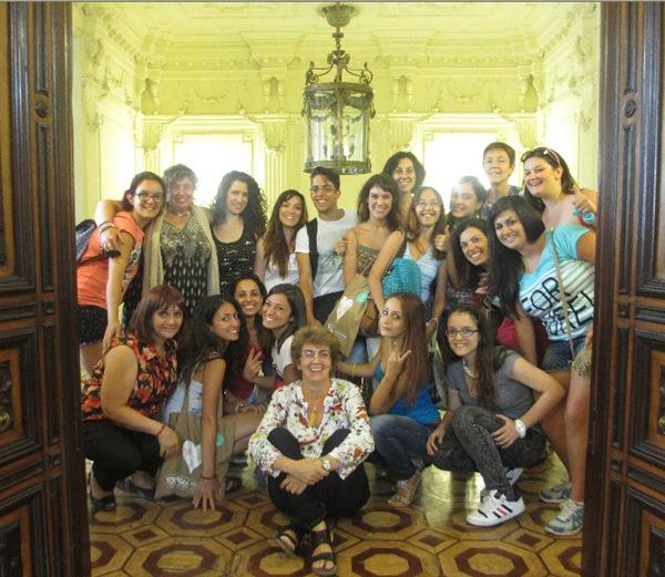Español para Grupos: Grupo de la Universidad de Catania 2014