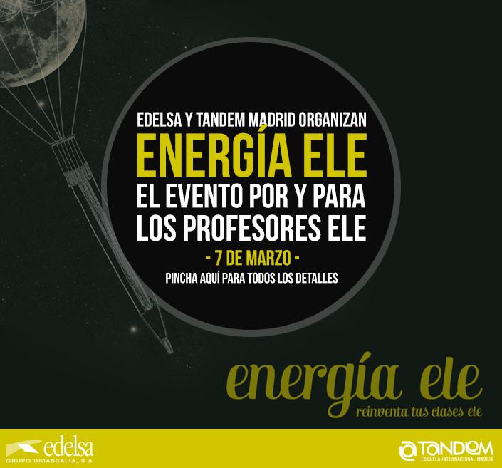Profesores de español: Noche ENERGÍA ELE 2015