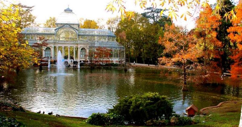autumn Madrid