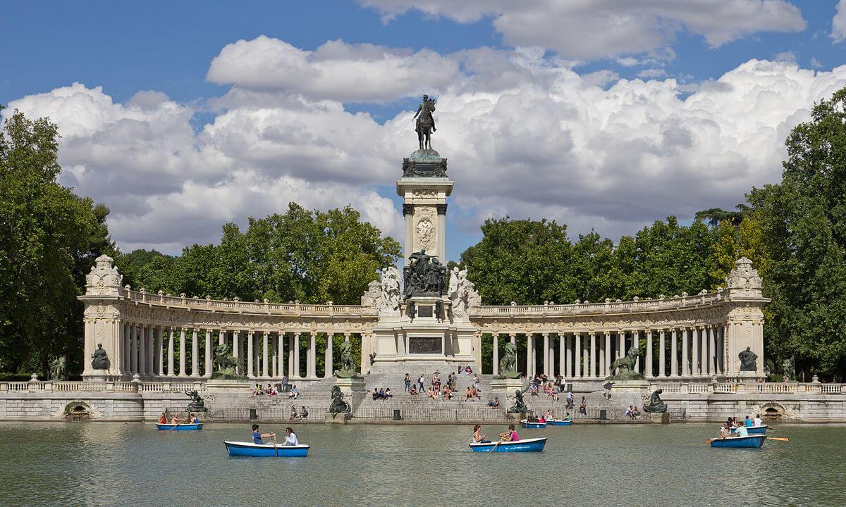 Parque El Retiro, Madrid