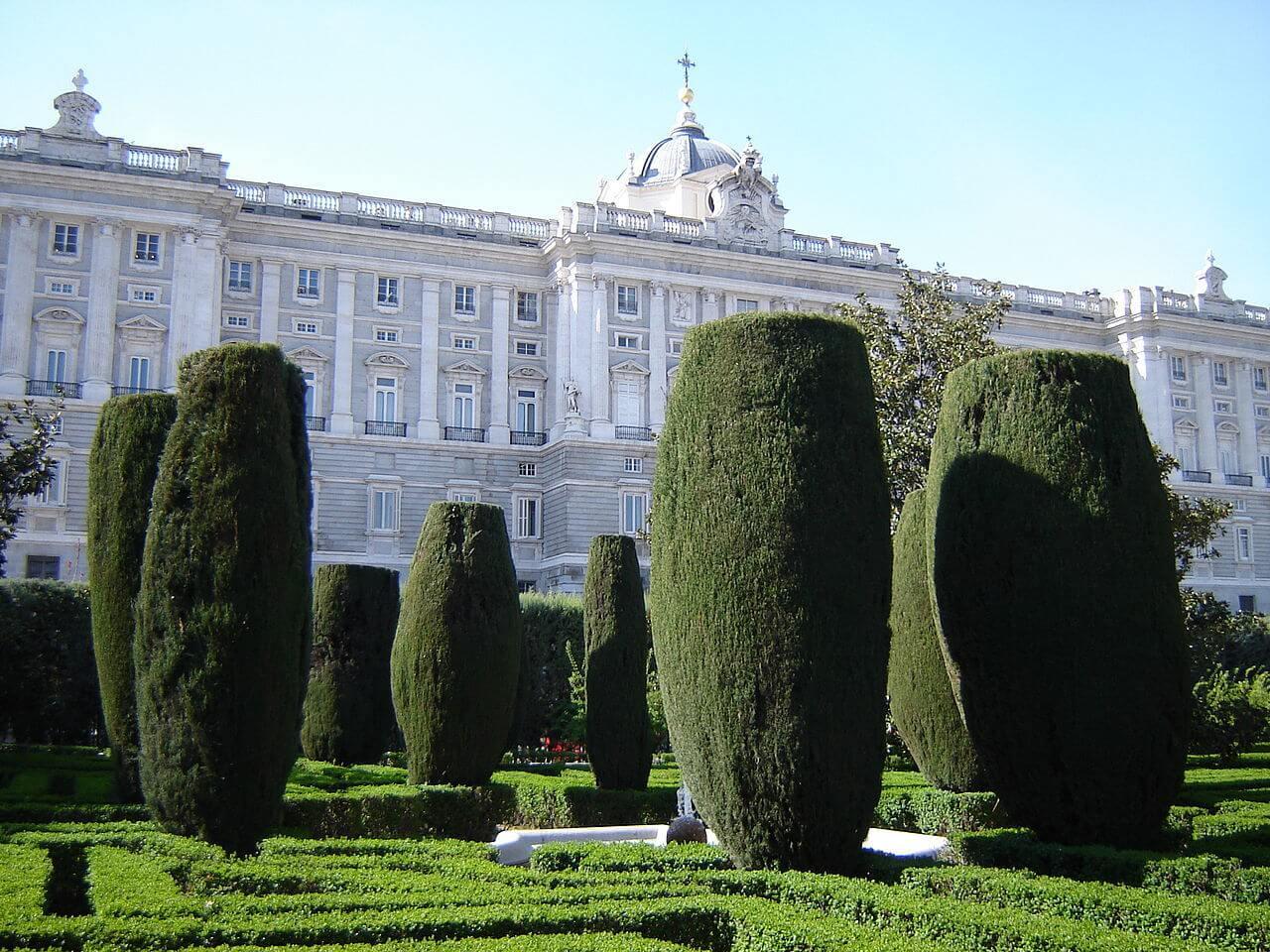 Sabatini gardens, Madrid