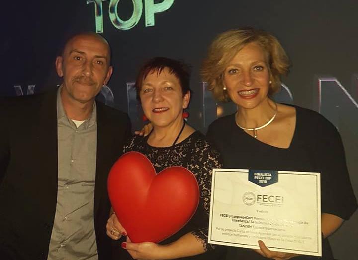 Premios FECEI Tandem Madrid 2019
