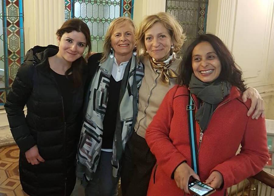 Testimonio de grupo Liceo Cornelio Tacito – Italia