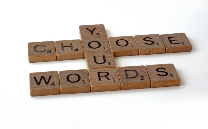 Letras choose your words