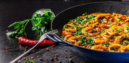 Paella. Spanish cuisine